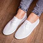 Женские туфли Fashion Twinkle 1784 36 размер 23 см Белый, фото 4