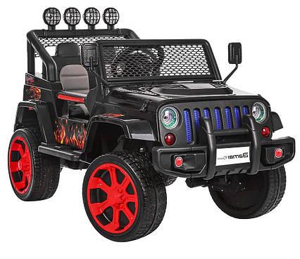 Детский электромобиль Джип M 3237EBLR-2-3 с колесами Eva, USB, 45W, MP3, 4G