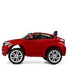 Детский электромобиль Джип JJ2199EBLRS-3 с колесами Eva, кожаными сиденьем, 35 W, 2 мотора, фото 2