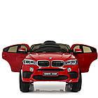 Детский электромобиль Джип JJ2199EBLRS-3 с колесами Eva, кожаными сиденьем, 35 W, 2 мотора, фото 4