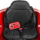Детский электромобиль Джип JJ2199EBLRS-3 с колесами Eva, кожаными сиденьем, 35 W, 2 мотора, фото 6