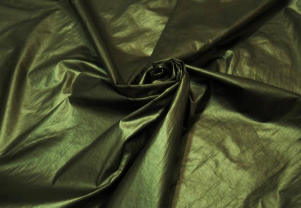 Плащевка дождик хаки, фото 2