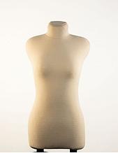 Манекен портновский бежевый модель Любовь, 42 размер