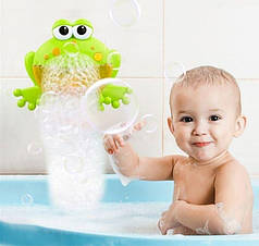 Детская Игрушка-генератор пены для ванной БулькоЖаб с лягушкой 68965