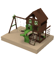 Детский комплекс Мир Развлечений Kidigo (11975)