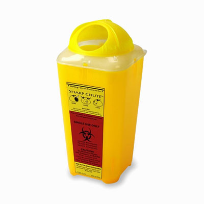 Контейнер-ємність для утилізації голокосту і медичних відходів