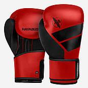 Боксерські рукавички Hayabusa S4 - Червоні, 12oz (Original) S, Шкіра