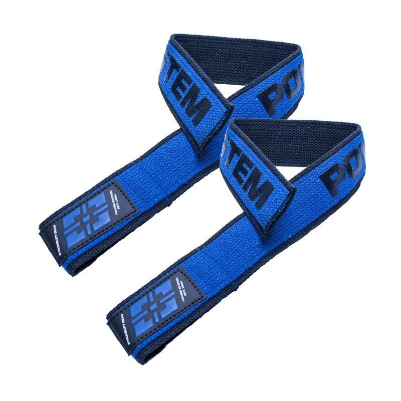 Кистевые ремни Power System PS-3401 Lifting Straps Duplex Black / Blue