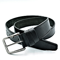 Качественный мужской ремень из натуральной кожи Мужской ремень для штанов и джинсов Ремень мужской