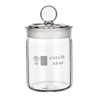 Контейнери скляні для взірців з кришкою, фото 2
