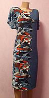 Платье женское 52-64р, платье большого размера летнее, легкое женское платье большие размеры