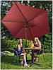 Садовый зонт Uniprodo (300 см), фото 5