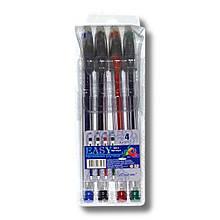 """Набір гелевих ручок """"Easy gel"""" 4 кол."""