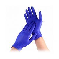 Перчатки нитриловые для мастера маникюра (размер М) 50 пар