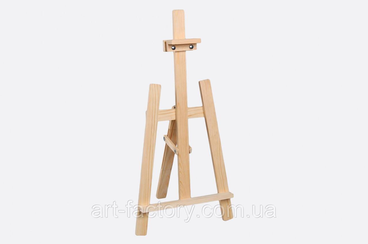 Мольберт оптом детский настольный, тренога 40 х 40 х 80 см, деревянный