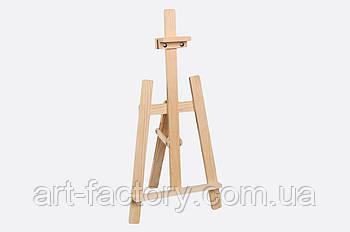 Мольберт опт дитячий настільний, тринога 40 х 40 х 80 см, дерев'яний
