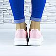 Кросівки жіночі рожеві демісезонні еко шкіра (b-686), фото 8