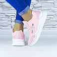 Кросівки жіночі рожеві демісезонні еко шкіра (b-686), фото 9