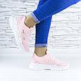 Кросівки жіночі рожеві демісезонні еко шкіра (b-686), фото 4