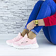 Кросівки жіночі рожеві демісезонні еко шкіра (b-686), фото 10