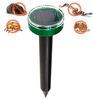 Відлякувач гризунів кротів і комах акумуляторний на сонячній батареї ультразвукової EL-1087