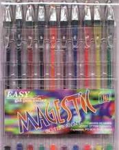 """Набір гелевих ручок """"Easy gel"""" 10 цв."""