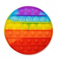"""Игрушка-антистресс """"POP-IT"""" PPT-C(Multicolor) Круг Радужный"""