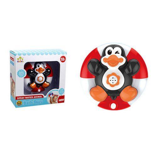 Игрушка для ванны фонтан Пингвин