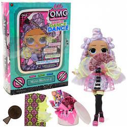 Игровой набор с куклой L.O.L. SURPRISE! серии O.M.G. Dance – Мисс Роял (117872)