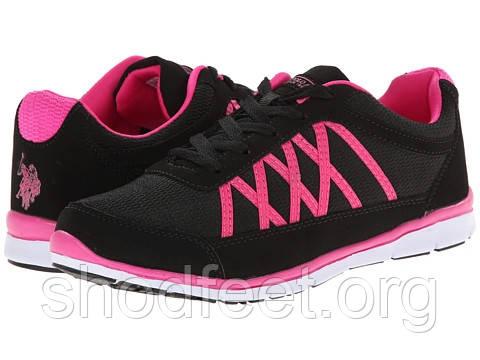 f128ee32 Женские кроссовки US POLO ASSN Black Pink , цена 1 170 грн., купить ...