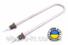 Тэн водяной нержавейка 2,5 кВт (дуга), Диаметр-13, резьба 22мм  Украина