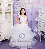 Пышное нарядное платье Катрин на 4-5, 6-7, 8-9 лет, фото 7