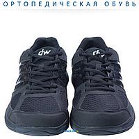 Ортопедические кроссовки при диабете dw classic Pure Black Diawin (женские)