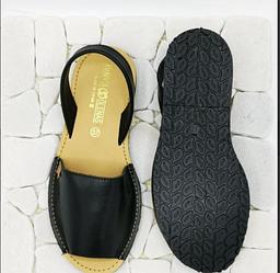 Мягкие черные сандалии из кожи наппаOlenaS, оригинал Испания