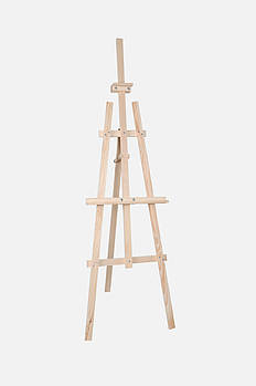 Мольберт-тринога, дерев'яний, Ліра 60 х 80 х 175 см