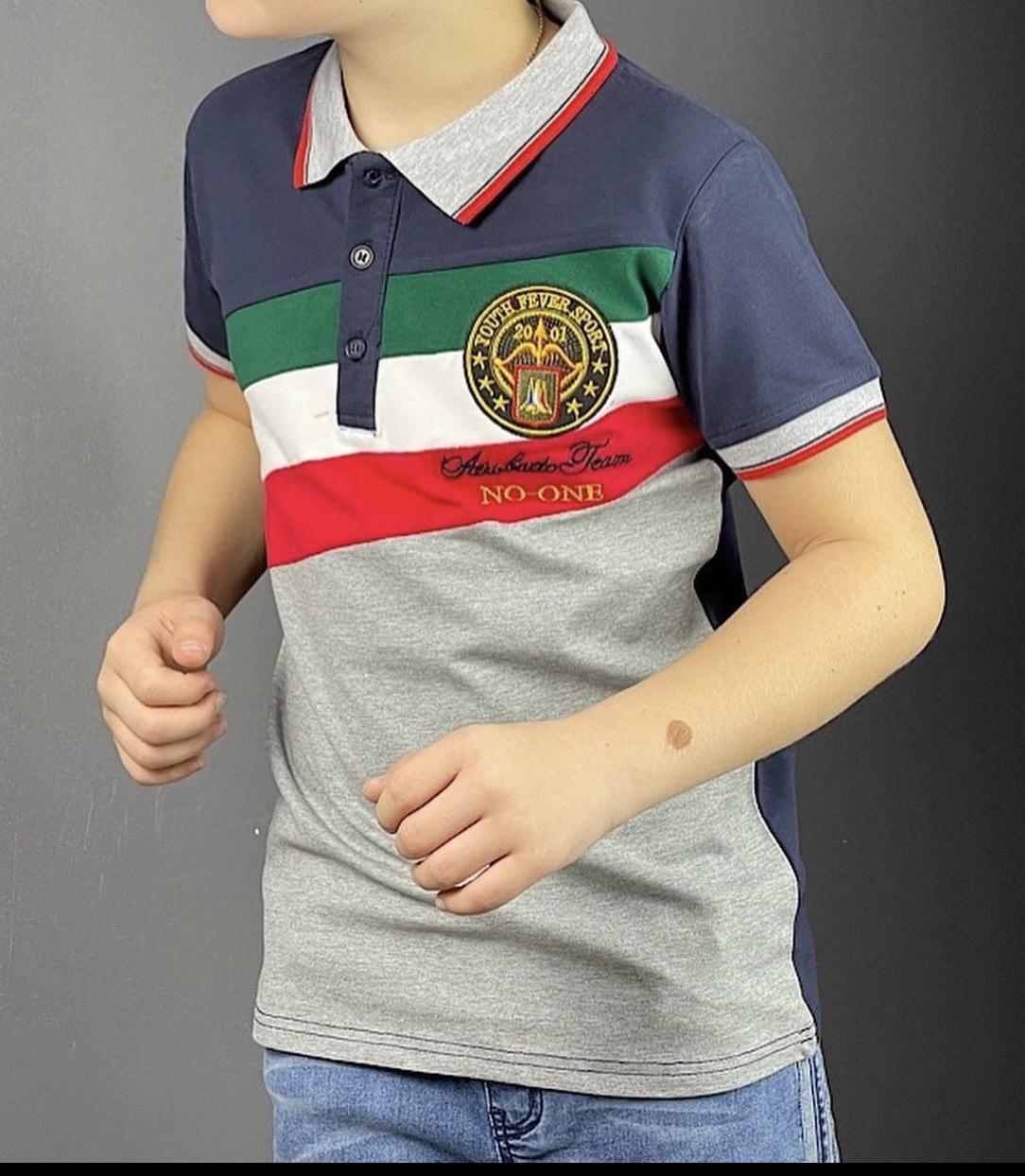 Стильные детские футболки поло Boy! Венгрия. 8- 12 лет.