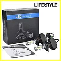 Комплект автомобильных LED ламп S1 H4  / Светодиодные лампы HeadLight