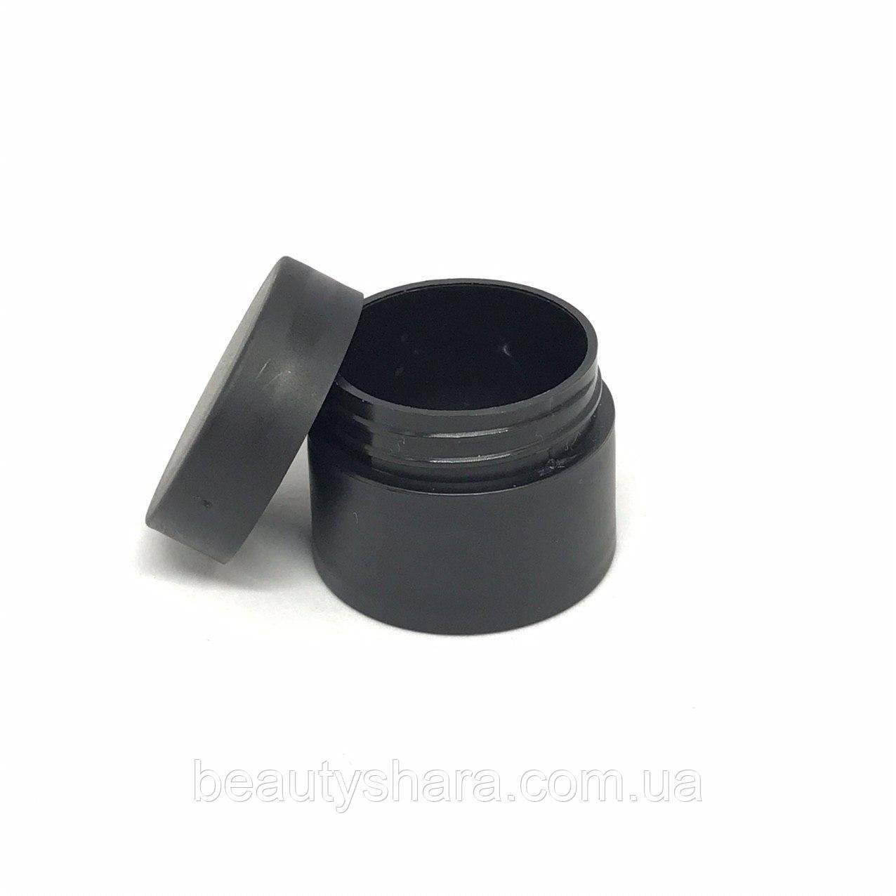 Баночка для косметики 5 мл Элиза (черная)