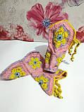 Тапочки теплі чобітки розмір 37-38 на фетровому підошві \ I-V - 003, фото 2