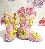 Тапочки теплі чобітки розмір 37-38 на фетровому підошві \ I-V - 003, фото 5