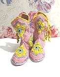 Тапочки теплі чобітки розмір 37-38 на фетровому підошві \ I-V - 003, фото 9