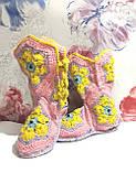 Тапочки теплі чобітки розмір 37-38 на фетровому підошві \ I-V - 003, фото 10