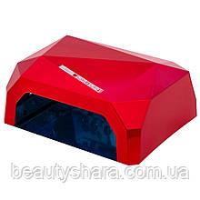 Светодиодная лампа для сушки гель-лака Diamond LED+CCFL, 36 Вт