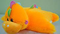 Плюшевая подушка-игрушка Динозаврик 65 см.