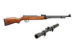 Теперь и с прицелом 4х20! Пневматическая винтовка SPA B3-3