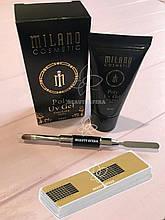 Набор для наращивания: Полигель Milano +Кисть-Шпатель +Формы для ногтей одноразовые