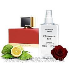 Жіночі парфуми аналог Fendi L Acquarossa 110мл.