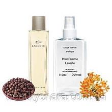 Жіночі парфуми аналог Lacoste pour femme 110мл.