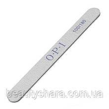 Пилка для ногтей OPI прямая 100/180