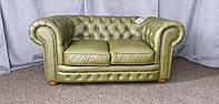 "Кожаный двухместный диван ""Chester"" Честер, Честерфилд, фото 1"